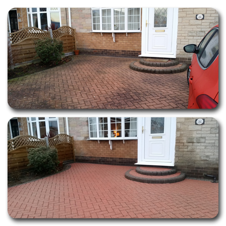 Driveway & patio cleaning services for Hull
