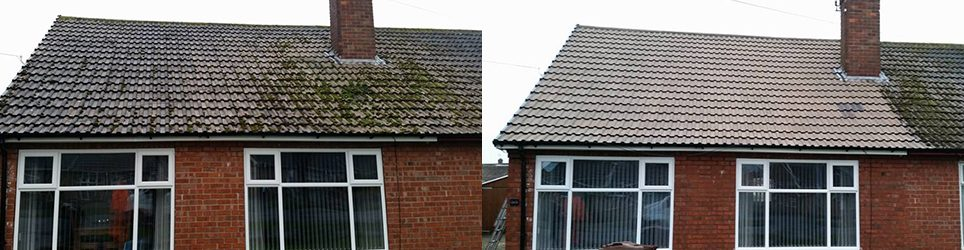 Roof cleaning services for Hull & surrounding area